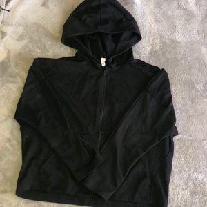 Lululemon Cropped Zip Hoodie